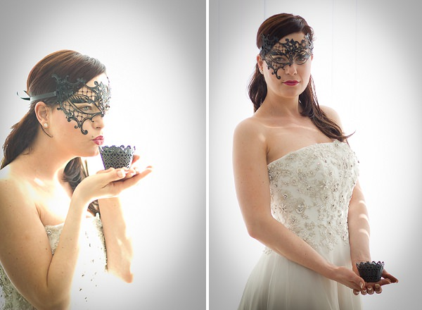Theatrical Monochrome Wedding Ideas ~ UK Wedding Blog ~ Whimsical Wonderland Weddings