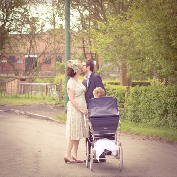 A Vintage Engagement At The Black Country Museum