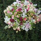 DIY Whimsical Wedding Flower Bouquet Tutorial by William Clarke Flowers