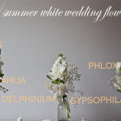 DIY White Wedding Flower Arrangements Tutorial