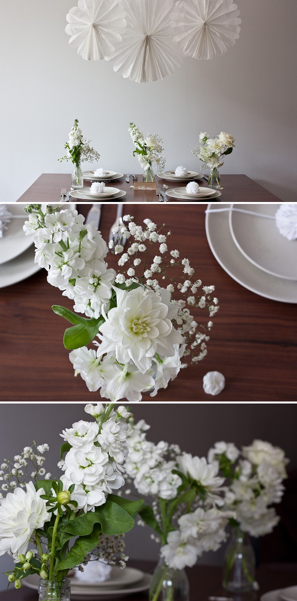 spring summer white wedding flower ideas diy white wedding f
