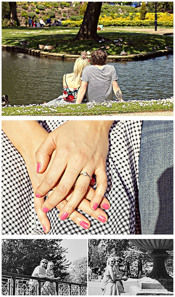 A Quirky Cute, Ice Cream + Doggies Engagement  ~ UK Wedding Blog ~ Whimsical Wonderland Weddings