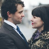 A Glamorous + Vintage Feel Engagement