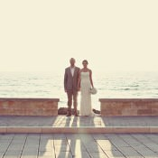 A Laid Back + Intimate Destination Wedding in Italy