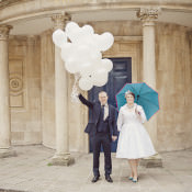 A Quirky + Colourful Cinema Wedding