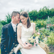 A Relaxed Homespun Country Garden Wedding