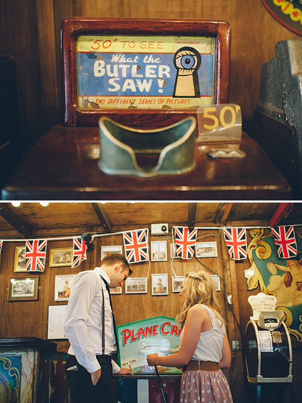 Black country museum wedding