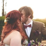The Bride Diaries: Laura F's Cosy Sparkle Filled Homemade Winter Wedding: Part 1