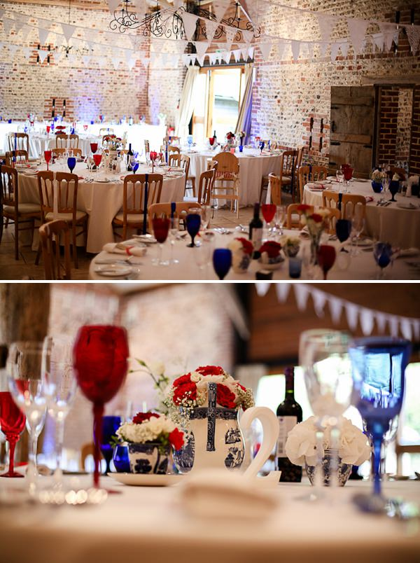 A Red White Blue Diy Wedding Whimsical Wonderland Weddings