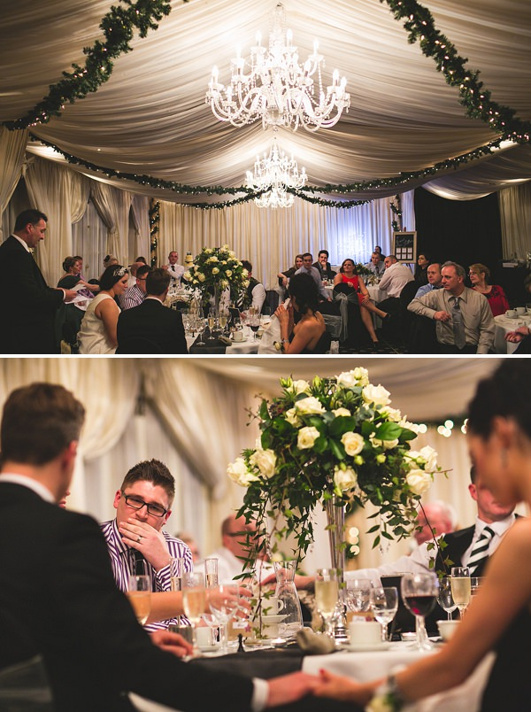 The Bride Diaries: Kellys Glamorous Monochrome Winter Wedding. Part 2 ~ UK Wedding Blog ~ Whimsical Wonderland Weddings