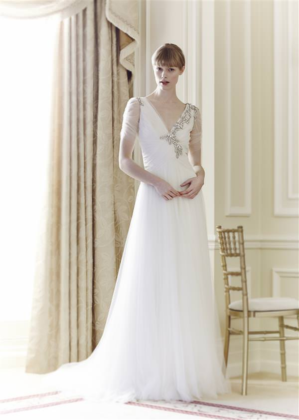 Jenny Packham 2014 Bridal Collection Preview ~ UK Wedding Blog ~ Whimsical Wonderland Weddings