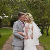 A Romantic & Classic Floral Wedding