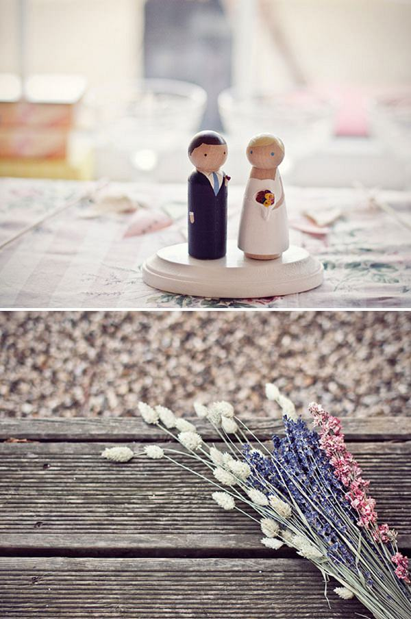 quirky cake toppers wedding