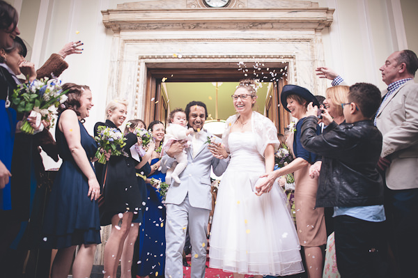 A Beautiful Blue & Barge London Wedding