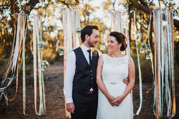 A Rustic Outdoor Wedding in Australia