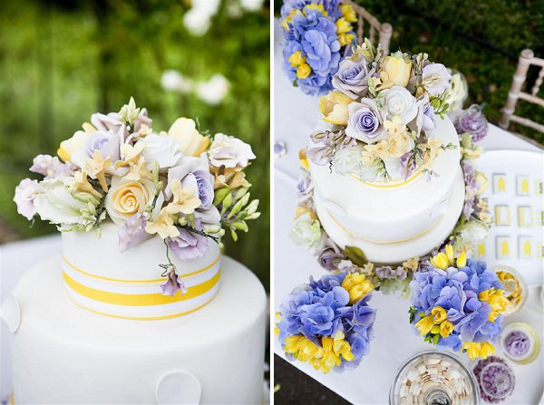 purple and yellow wedding cake ideas purple amp yellow wedding ideas whimsical weddings 18887