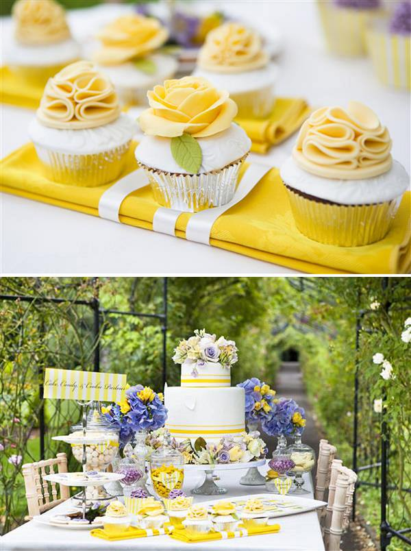 Purple Yellow Wedding Ideas Whimsical Wonderland Weddings