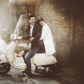 A Romantic Hidden Streets Engagement in Italy