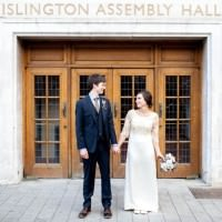 relaxed london wedding