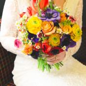 A Colourful & Laid Back London Pub Wedding