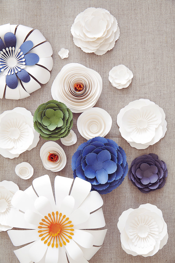 Diy Paper Flower Tutorial Whimsical Wonderland Weddings