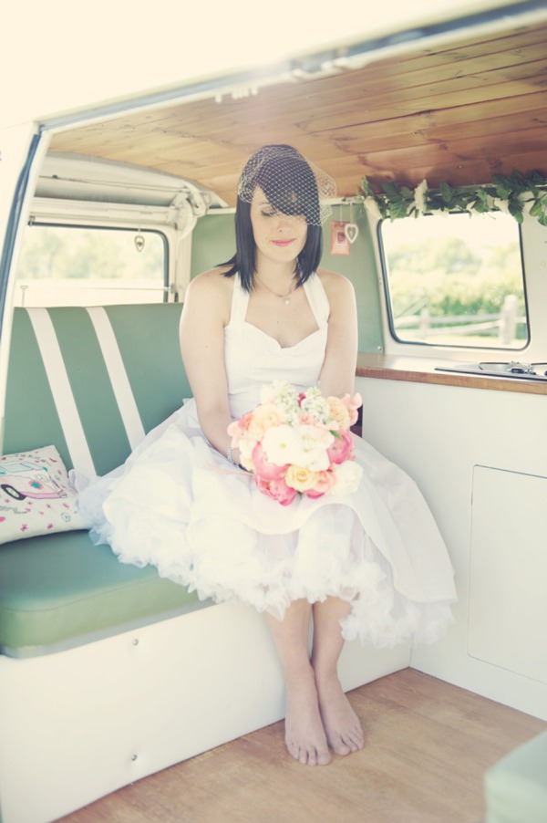 vintage caravan wedding http://www.rebeccadouglas.co.uk/