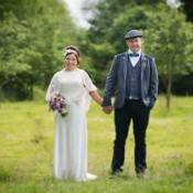 A Colourful Outdoor Farm Wedding