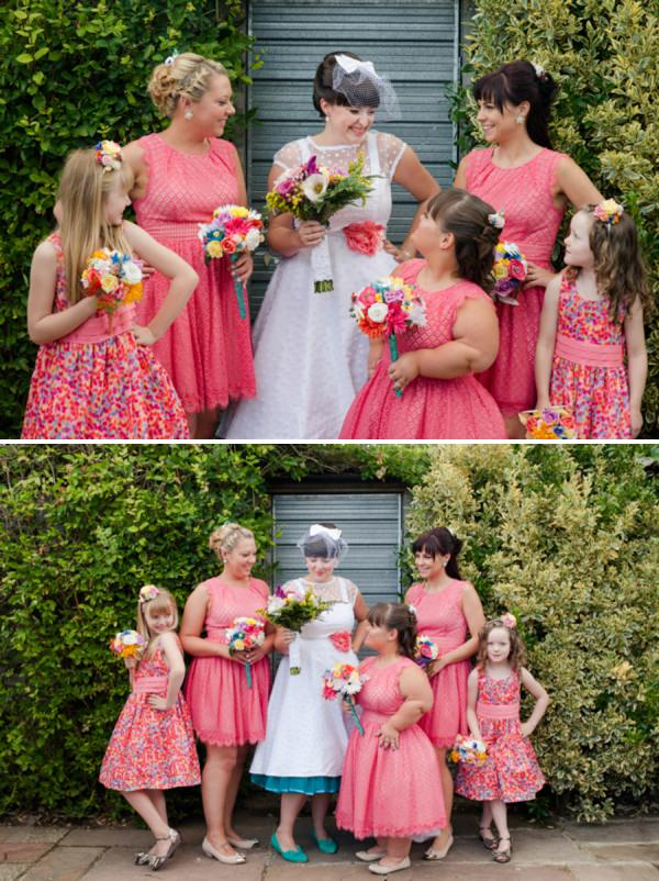 coral bridesmaid dresses http://www.georgimabee.com/