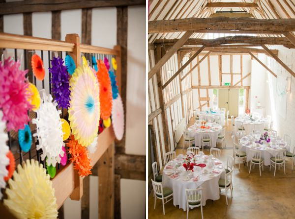 colourful kitsch wedding http://www.georgimabee.com/
