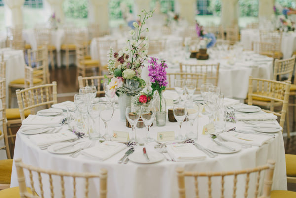 pretty wedding tables http://www.kitchenerphotography.co.uk/