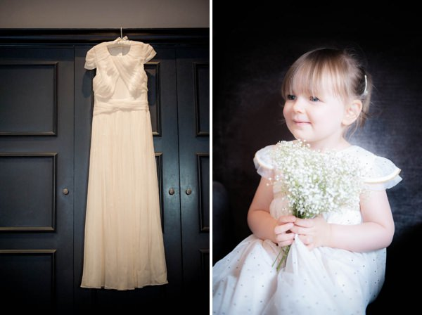 J Crew Dress Flower Girl Chic Monochrome Birmingham Wedding Jennifertakesphotosco