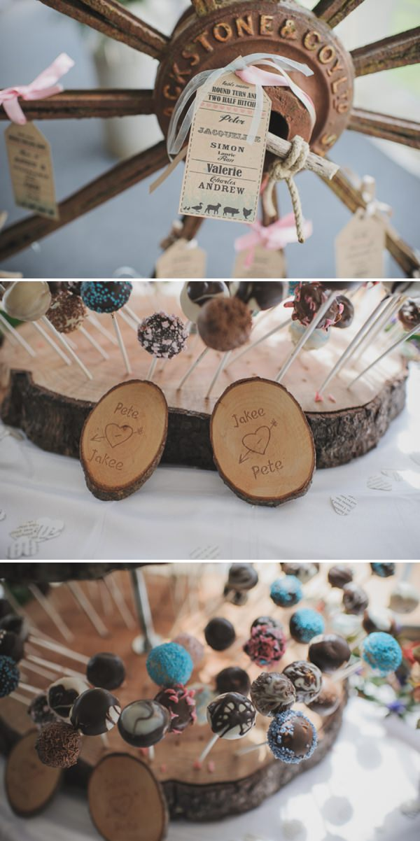 log wedding details http://www.oacphotography.com/