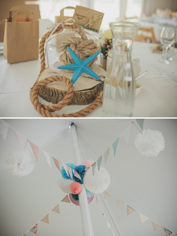 lanterns & bunting wedding http://www.oacphotography.com/
