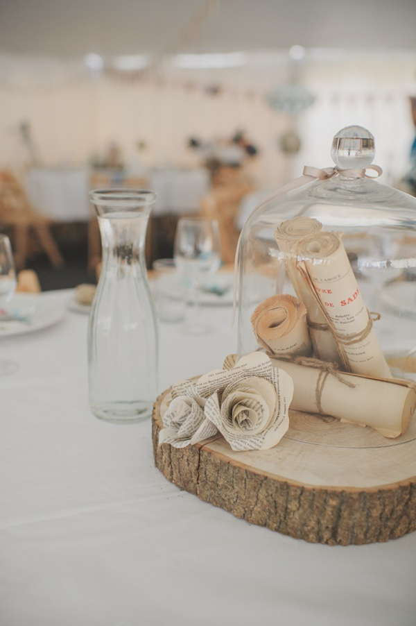 paper & log wedding touches http://www.oacphotography.com/