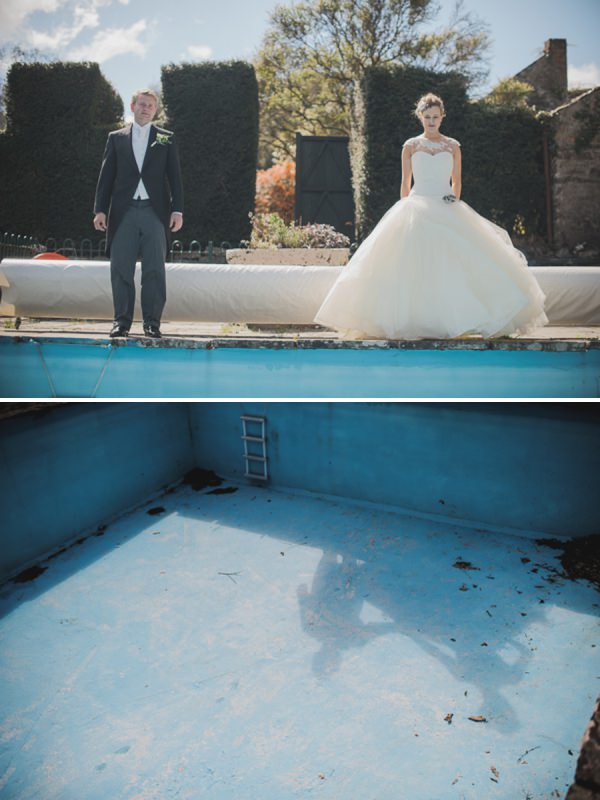 swimming pool wedding http://www.oacphotography.com/