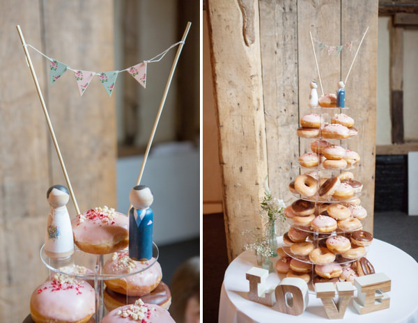 donut cake home made pretty wedding http://www.juliaandyou.co.uk/