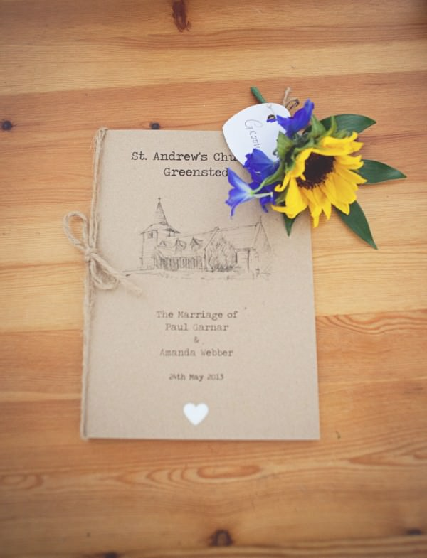 how to diy order of service funeral at home