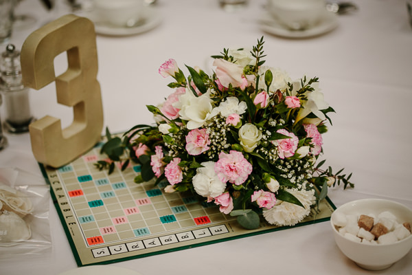 scrabble wedding pride and prejudice wedding chatsworth house http://www.tierneyphotography.co.uk/