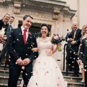 A Colourful Industrial London Wedding
