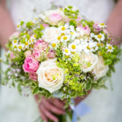 A Pretty Pink & Floral Wedding