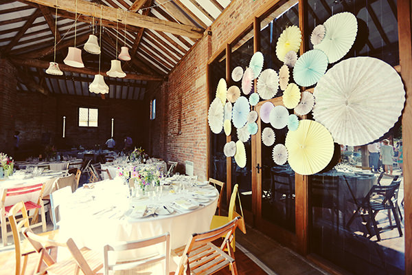 pinwheels Colourful Quirky Summer Garden Wedding http://www.mariafarrelly.com/