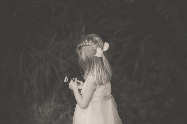 flower girl quirky beach wedding http://www.marcsmithphotography.com/