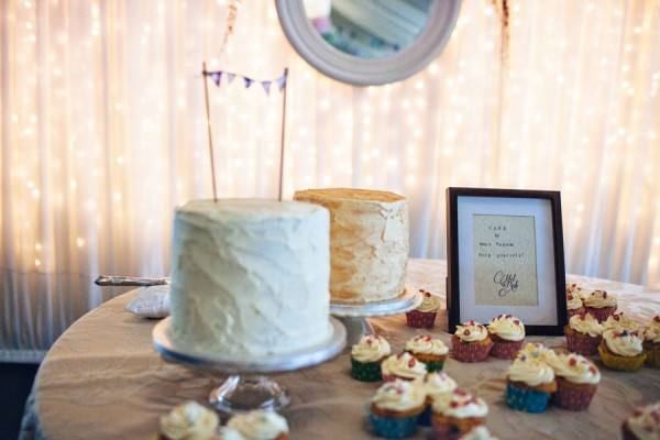 wedding cakes table Rustic Patterns & Pastels Wedding http://campbellphotography.co.uk/