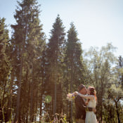 A Bohemian Woodland Hand Fasting Wedding