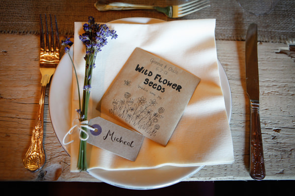 Wildflower seed favours Country Fair Woodland Wedding http://www.frecklephotography.co.uk/