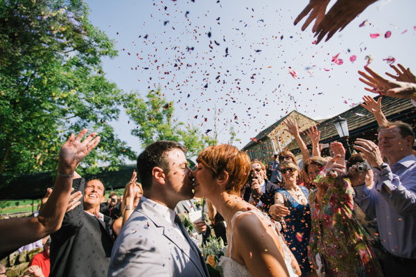 fun stylish village wedding http://www.stottandatkinson.com/