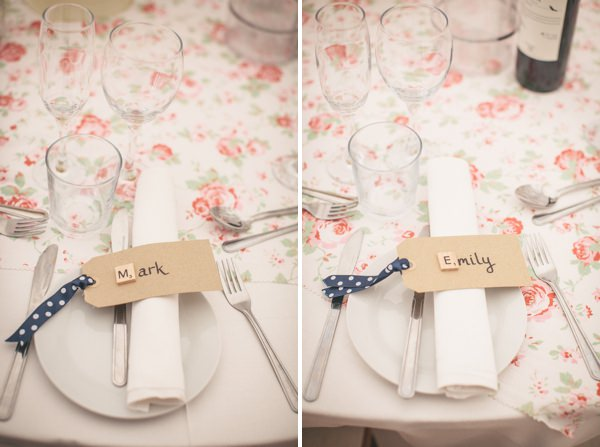 Scrabble Luggage Tag Place Names Pretty Party Pub Informal Wedding http://www.emmalucyphotography.com/