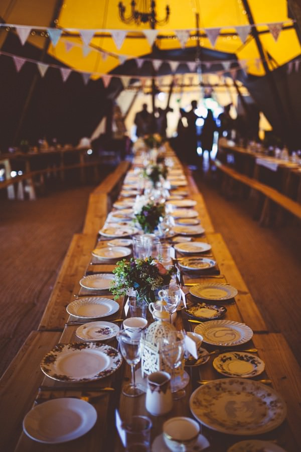 long tables vintage china Festival Family Wedding http://www.babbphoto.com/