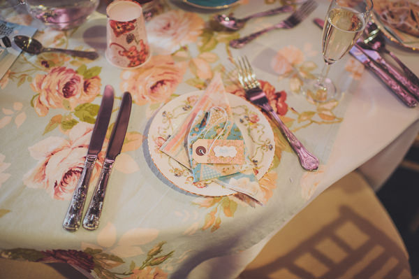 table cloths napkins Floral Country Fete Wedding http://www.bigbouquet.co.uk/