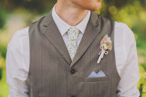 groom quirky buttonhole Floral Country Fete Wedding http://www.bigbouquet.co.uk/
